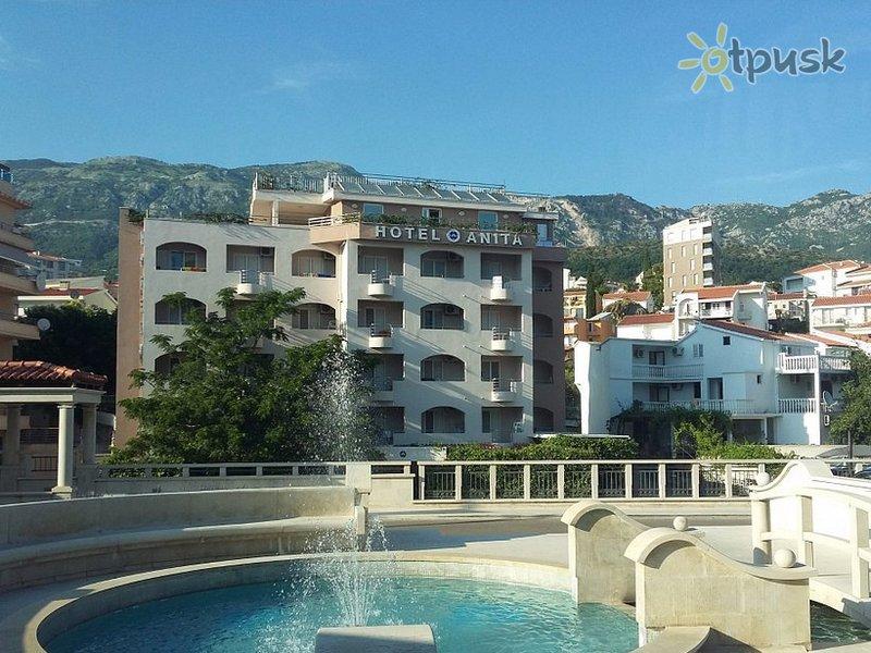 Отель Anita Hotel 3* Бечичи Черногория