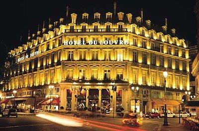 Отель Du Louvre Hotel 4* Париж Франция