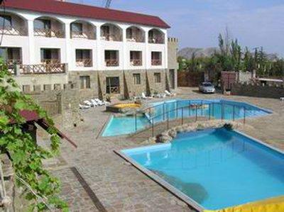 Отель Бастион 2* Судак Крым
