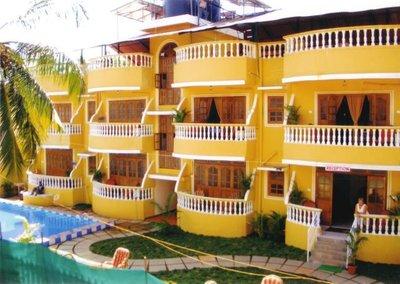 Отель Villa Theresa 2* Северный Гоа Индия