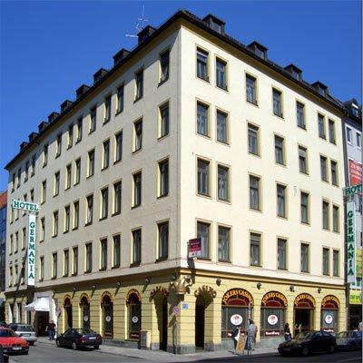 Отель Germania Munchen Hotel 3* Мюнхен Германия