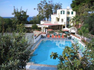 Отель Albergo Villa Hibiscus 3* о. Искья Италия