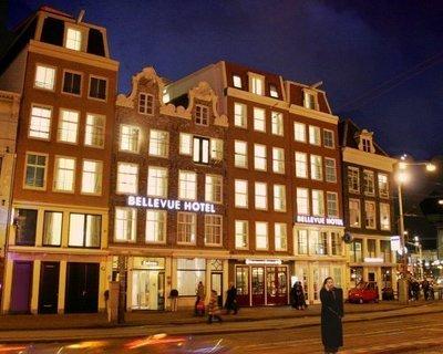 Отель Bellevue 3* Амстердам Нидерланды