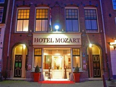 Отель Mozart 2* Амстердам Нидерланды