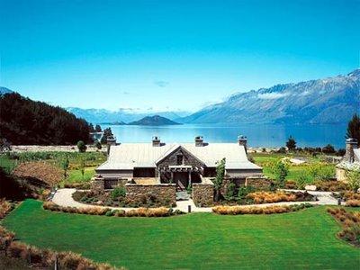 Отель Blanket Bay, Queenstown 5* Квинстаун Новая Зеландия