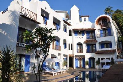 Отель Mykonos Blu Hotel 3* Северный Гоа Индия