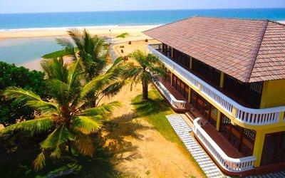 Отель Cocoon Sea Resort 4* Косгода Шри-Ланка