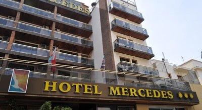 Отель Mercedes Hotel 3* Коста Брава Испания