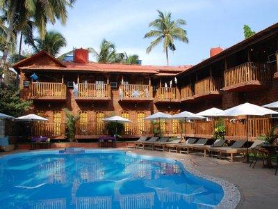 Отель Sea Breeze Inn Calangute 3* Северный Гоа Индия