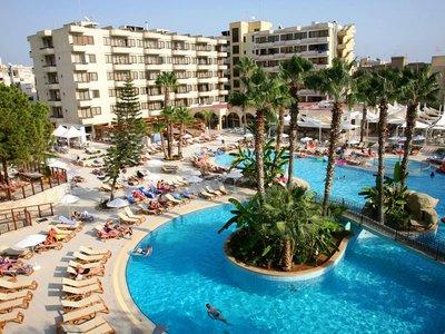 Отель Atlantica Oasis Hotel 4* Лимассол Кипр