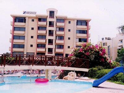 Отель Arsinoe Beach Hotel 3* Лимассол Кипр