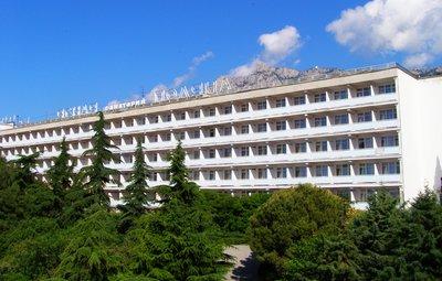 Отель Санаторий Ясная поляна 2* Гаспра Крым