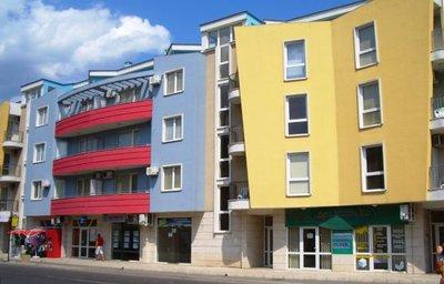 Отель Aquamarine Holiday Residence 3* Солнечный берег Болгария