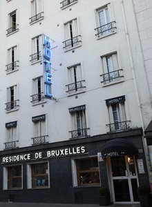 Отель Residence De Bruxelles 2* Париж Франция