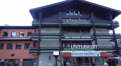 Отель Unterwirt 2* Заальбах Австрия