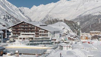 Отель Alpina Deluxe Hotel 4* Обергургль Австрия