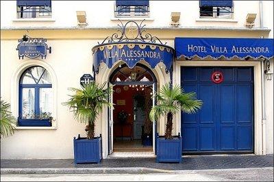 Отель Villa Alessandra 4* Париж Франция