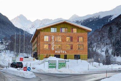 Отель Explorer Hotel Montafon 3* Галтюр Австрия