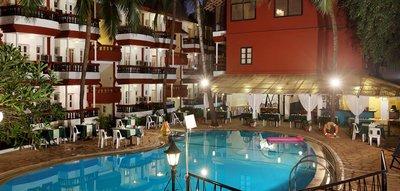 Отель Santiago Beach Resort 3* Северный Гоа Индия