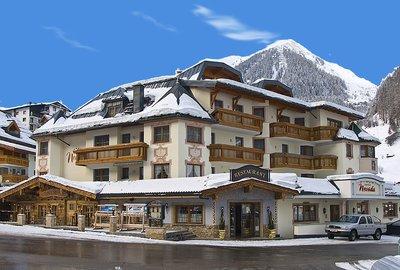 Отель Nevada Hotel 4* Ишгль Австрия