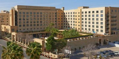 Отель Intercontinental Jordan Hotel 5* Амман Иордания
