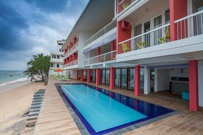 Отель Coral Rock by Bansei 4* Хиккадува Шри-Ланка