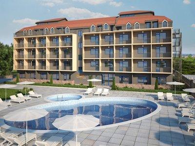 Отель Jasmin Club 3* Солнечный берег Болгария