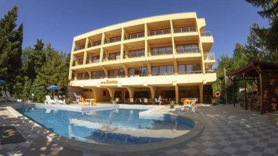 Отель Exotica Hotel 3* Золотые пески Болгария