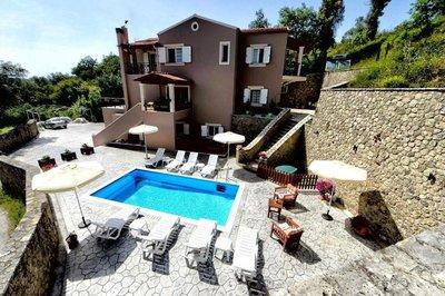 Отель Natalia Villa 5* о. Корфу Греция