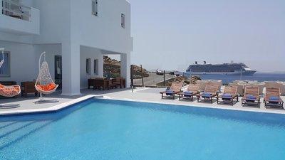 Отель Bellevue Hotel 4* о. Миконос Греция