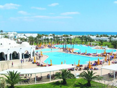 Отель Mirage Beach Club 4* Хаммамет Тунис