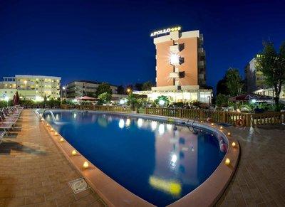 Отель Apollo Hotel 3* Римини Италия
