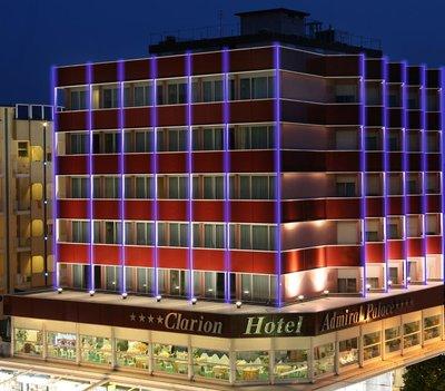 Отель Admiral Art Hotel 4* Римини Италия