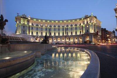 Отель Palazzo Naiadi The Dedica Anthology Autograph Collection 5* Рим Италия