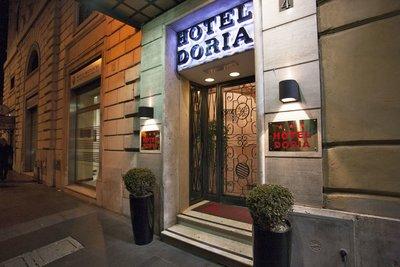Отель Doria 3* Рим Италия