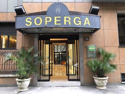 Отель Soperga 3* Милан Италия