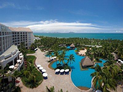 Отель Holiday Inn Resort Sanya Bay 5* о. Хайнань Китай