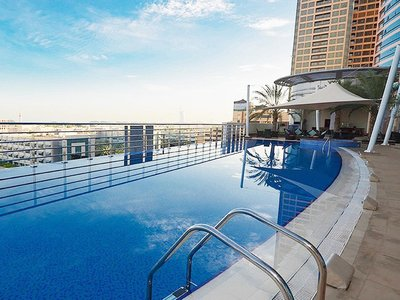 Отель Grand Midwest Tower Hotel & Apartments 4* Дубай ОАЭ