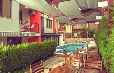 Отель Afrodita Sea House 2* Несебр Болгария