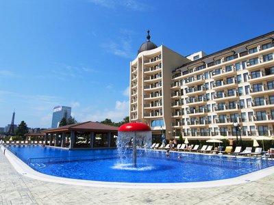 Отель Admiral Hotel 5* Золотые пески Болгария