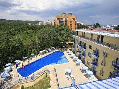 Отель Blue Sky 3* Золотые пески Болгария