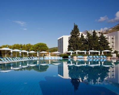 Отель Bluesun Resort Afrodita 4* Тучепи Хорватия