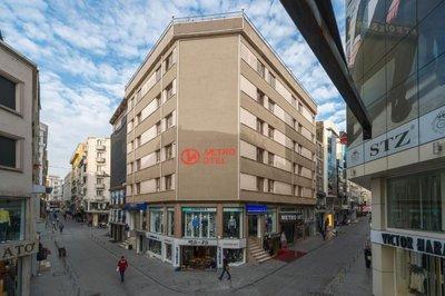 Отель Metro Hotel 3* Стамбул Турция