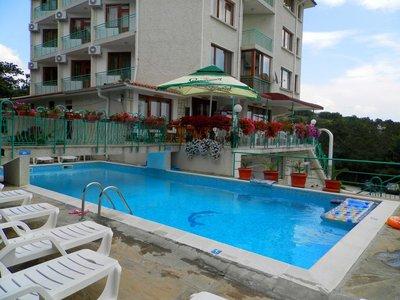 Отель Zora Hotel 3* Солнечный берег Болгария