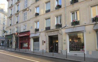 Отель Lorette Hotel 3* Париж Франция