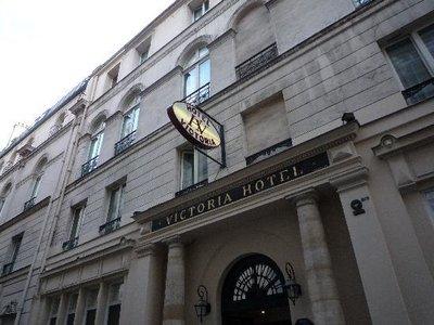 Отель Victoria Hotel 2* Париж Франция