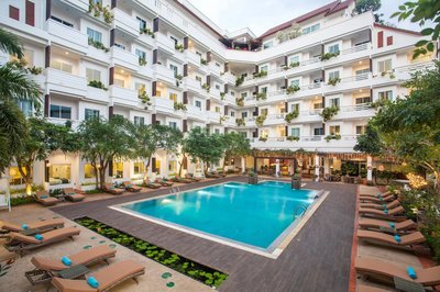 Отель Hill Fresco Pattaya Hotel 3* Паттайя Таиланд