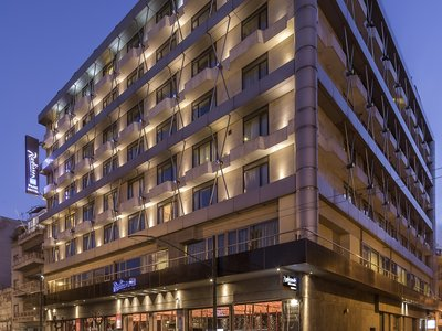 Отель Radisson Blu Park Hotel Athens 4* Афины Греция