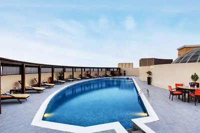 Отель Lotus Grand Hotel Apartments 4* Дубай ОАЭ