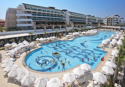 Отель Crystal Waterworld Resort & Spa 5* Белек Турция